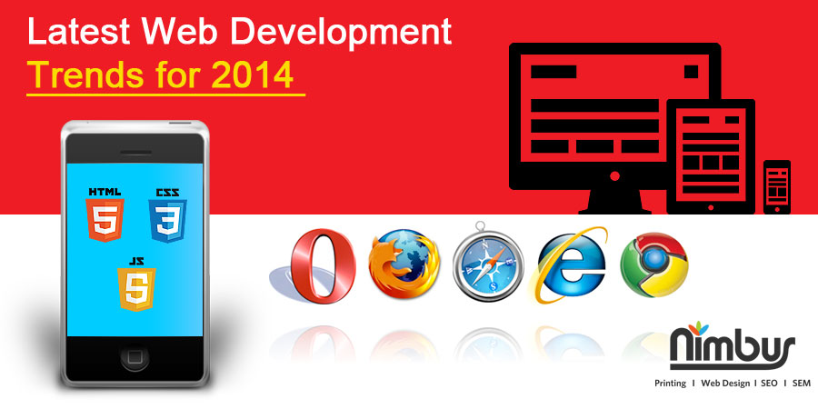 Latest Web Development Trends for 2014